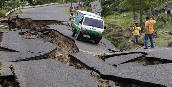 Earthquake Paragraph